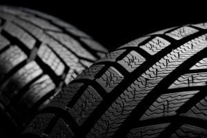 Car tire treads